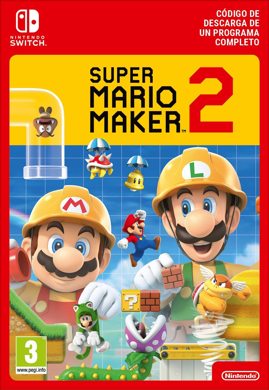 Super Mario Maker 2 (código de descarga eShop)