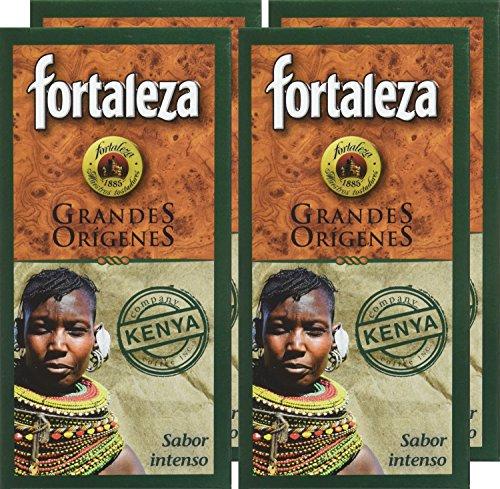 Pack de 4 - Café Fortaleza Kenya - 250 gr - [Pack de 4]