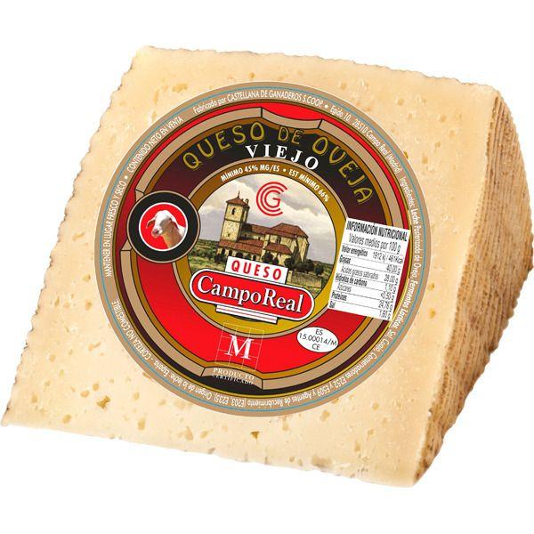 Cuña queso camporeal curado viejo