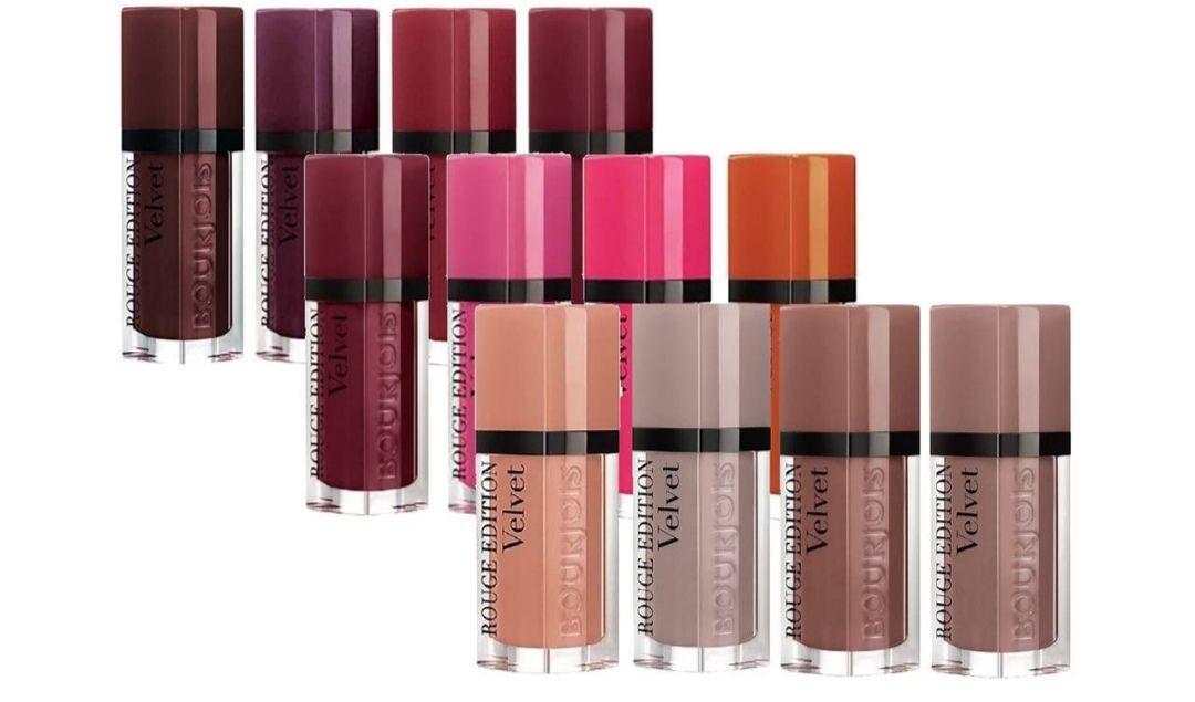Pack de pintalabios Rouge Edition Velvet Bourjoir