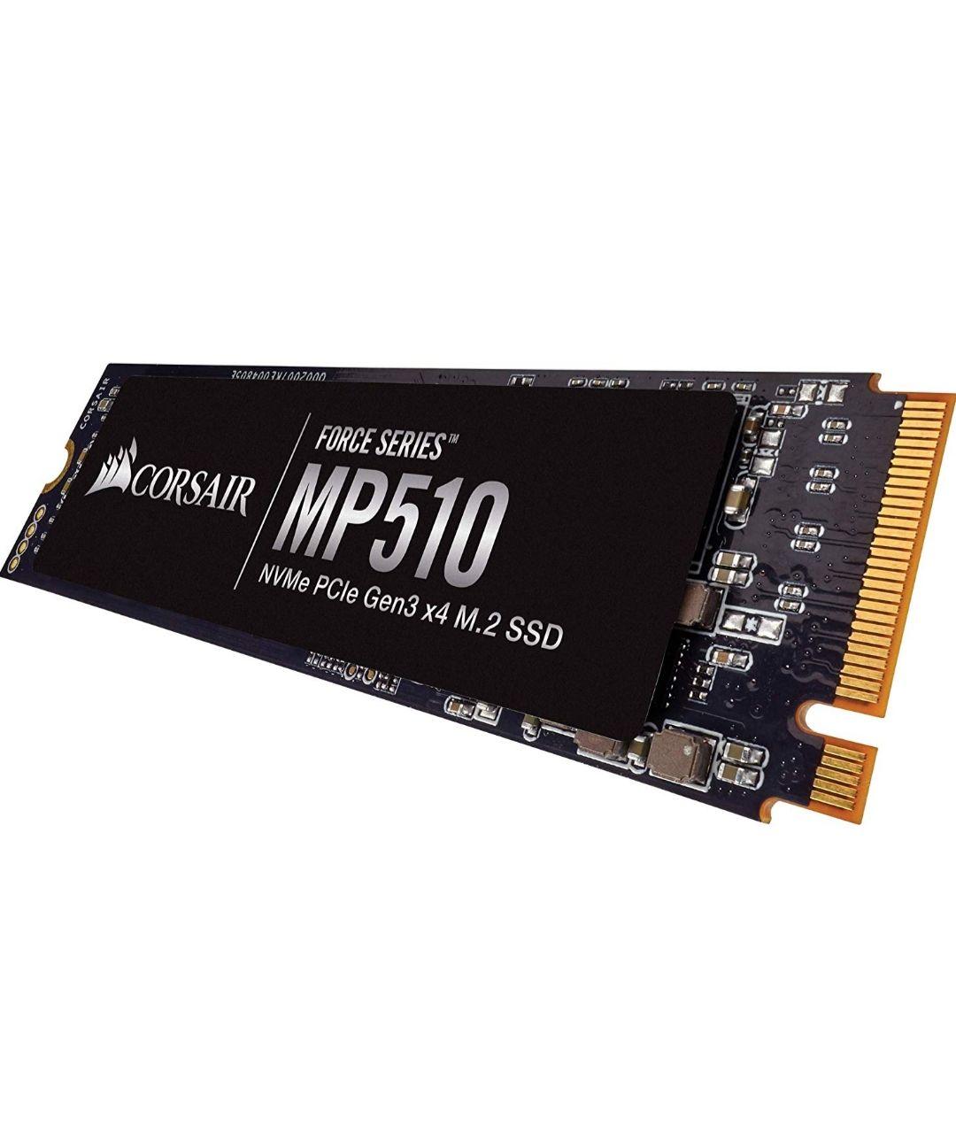 CORSAIR Force MP510 - Unidad de Estado sólido, SSD de 240 GB, NVMe PCIe Gen3 x4 M.2-SSD, hasta 3,100 MB/s