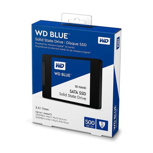 """WD Blue 500GB 3D NAND SSD 2.5"""""""