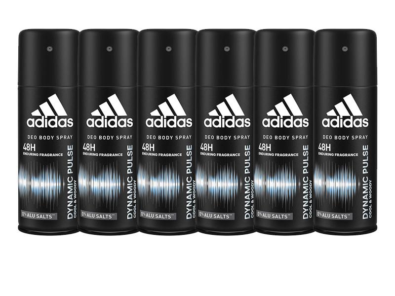 6 desodorantes adidas 1 ,60€ c/u
