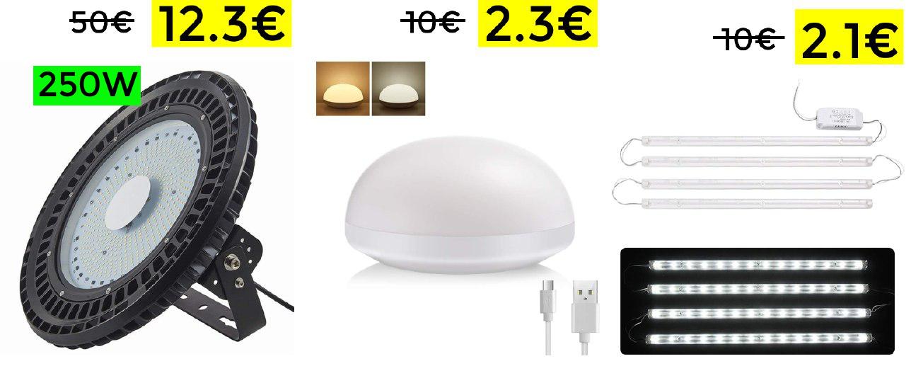 Liquidación LED con descuentos hasta el 75%
