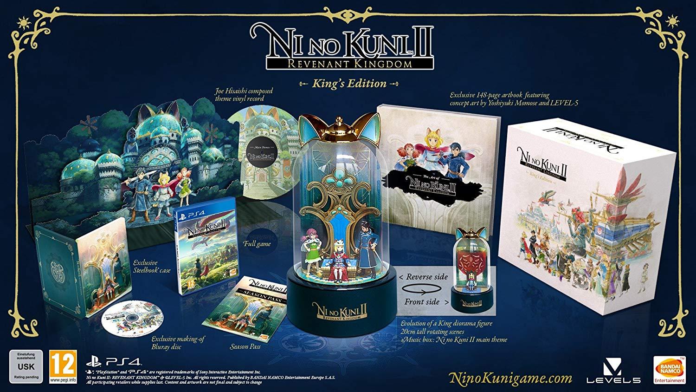 Ni no Kuni II: El Renacer de un Reino Edición King PS4