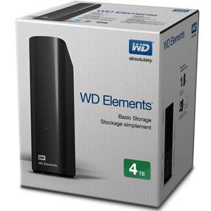 [AlCampo] Disco duro 4Tb - Western Digital Elements Desktop, externo, 3,5, USB 3.0