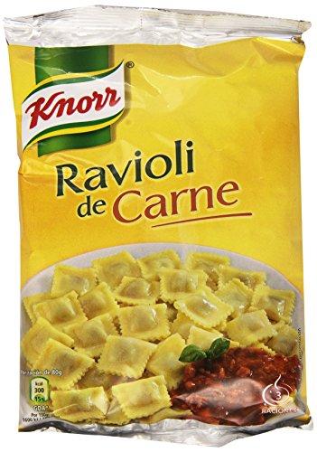 12 paquetes de ravioli (144 sobres) de carne de Knorr a precio de escándalo