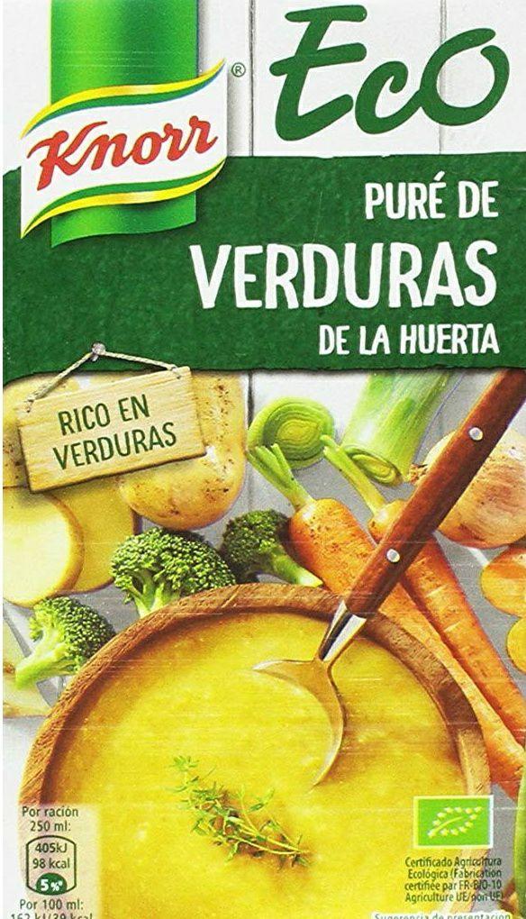 8 litros de Eco Puré de Verduras Knorr