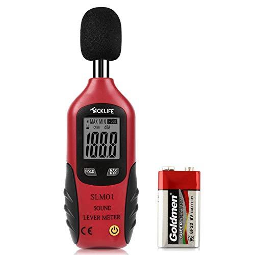Sonómetro de 40-130dB solo 4.99€