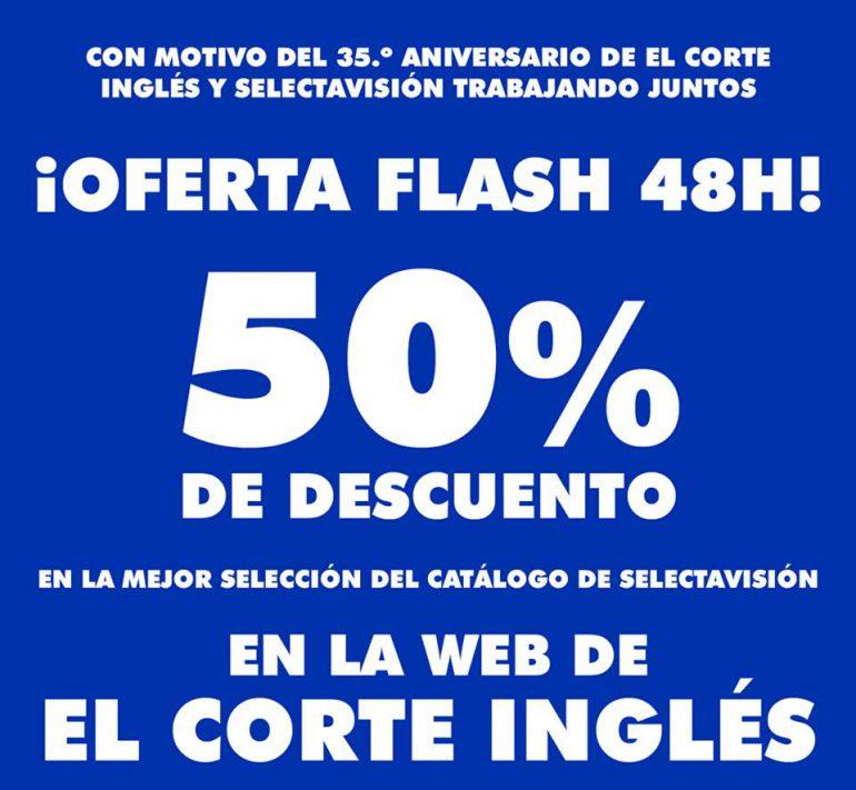 50% de DESCUENTO en catálogo SELECTA VISIÓN