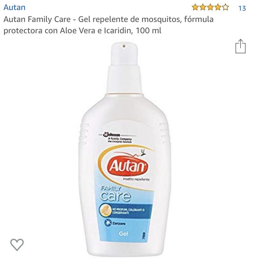 Repelente Autan Protección Familiar descuentazo Amazon  -35%