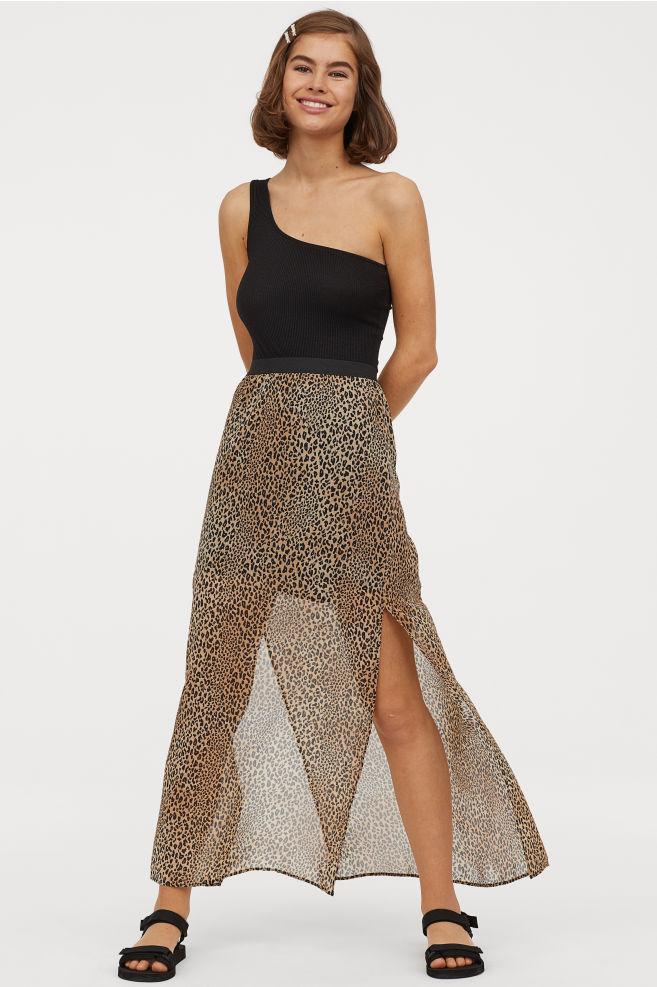 Falda larga de H&M
