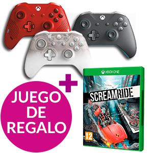 Mando Xbox Inalámbrico Microsoft + Screamride de regalo