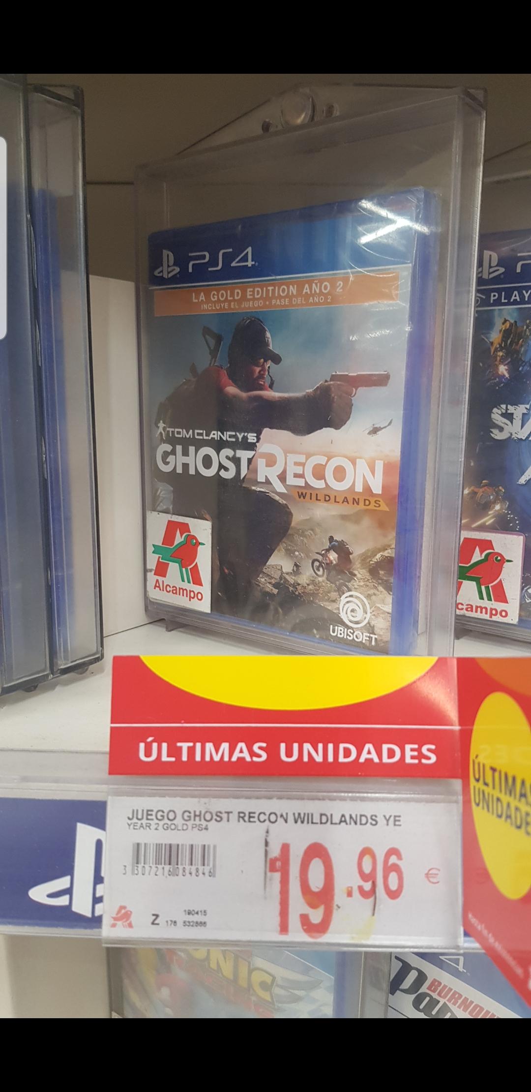 JUEGO PS4 Ghost Recon Wildlands Year 2 - Gold Edition