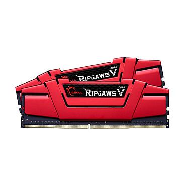 G.Skill RipJaws Serie 5 Rojo 8GB (2x 4GB) DDR4 2666 MHz CL15 (LEER)