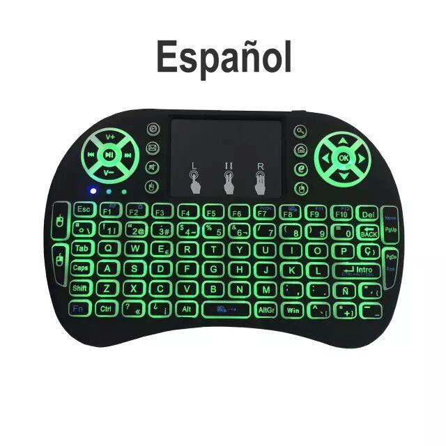 Mini teclado Ideal TV box con batería de litio