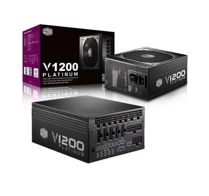 Cooler Master V1200 80 Plus Platinum 1200W - Completamente Modular