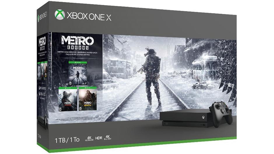 Xbox One X + Saga Metro solo 349€