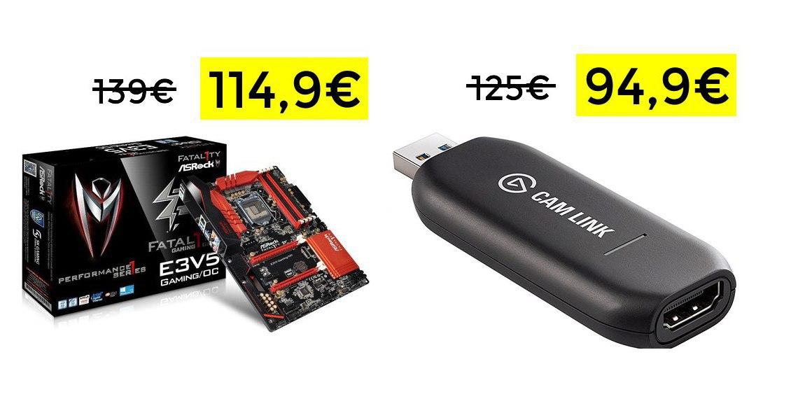Placa ASRocK LGA 1151 Gaming solo 114€