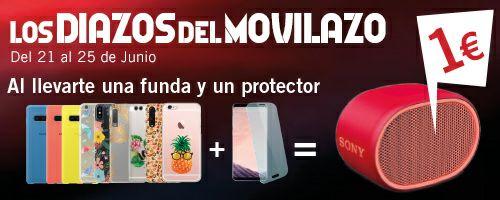 Altavoz Sony XB01 por 1€ al comprar una funda y un protector