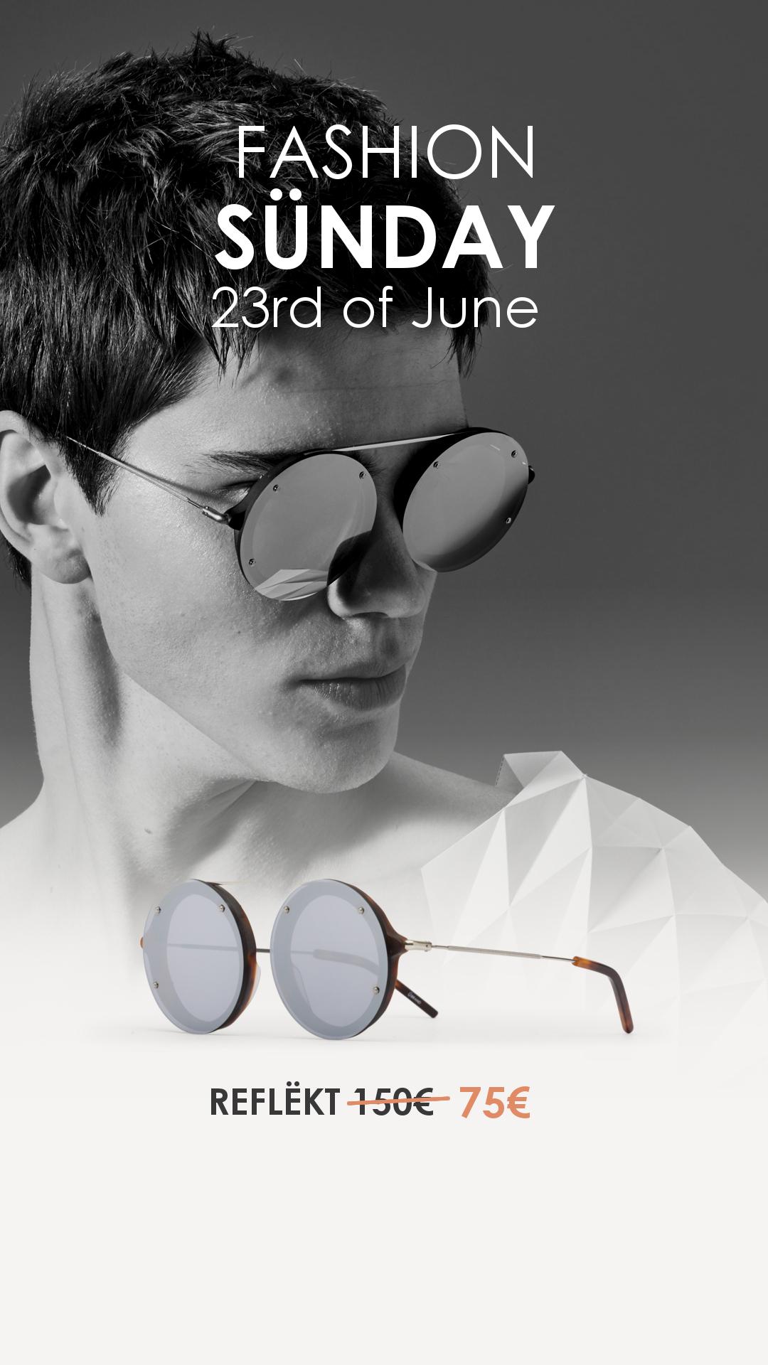 ada623416a Ü Brand: 50% de descuento en todas sus gafas de sol este domingo