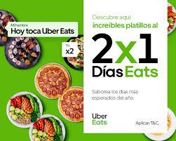 UBER EATS 2X1!!!