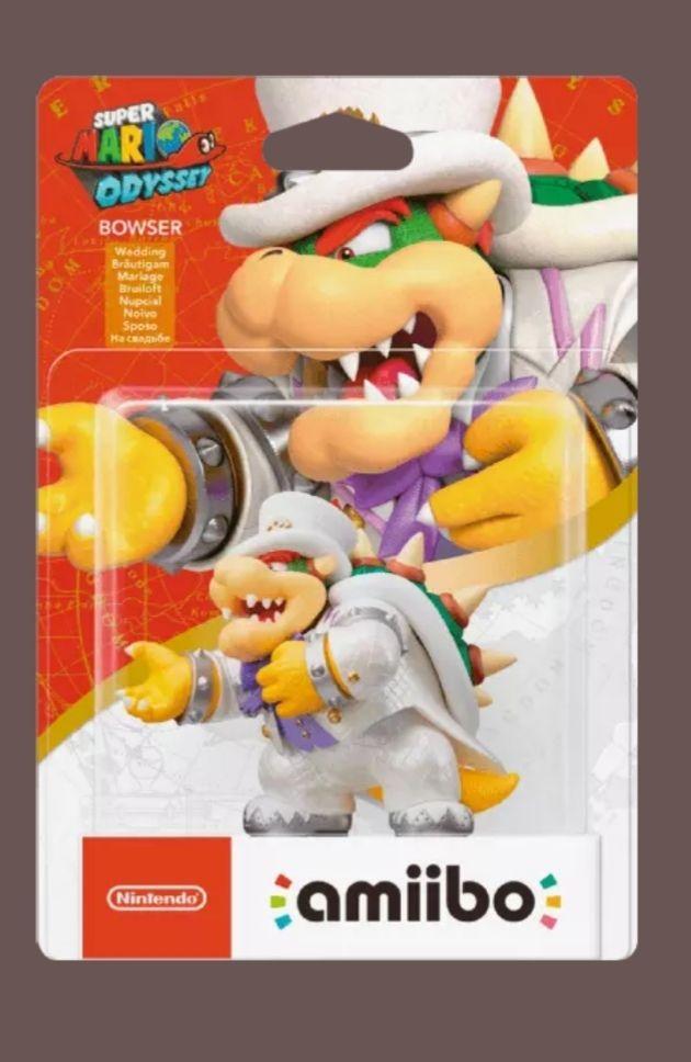 Amiibo Bowser Mario Odyssey
