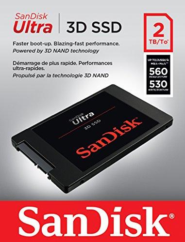 SSD SanDisk Ultra 3D - 2 TB [Minimo histórico]