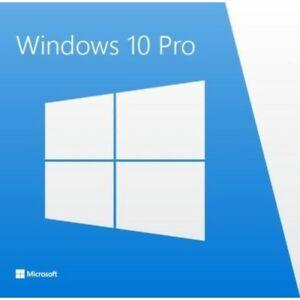 Licencia Windows 10 Pro 32/64 bits - Uso personal y actualizable