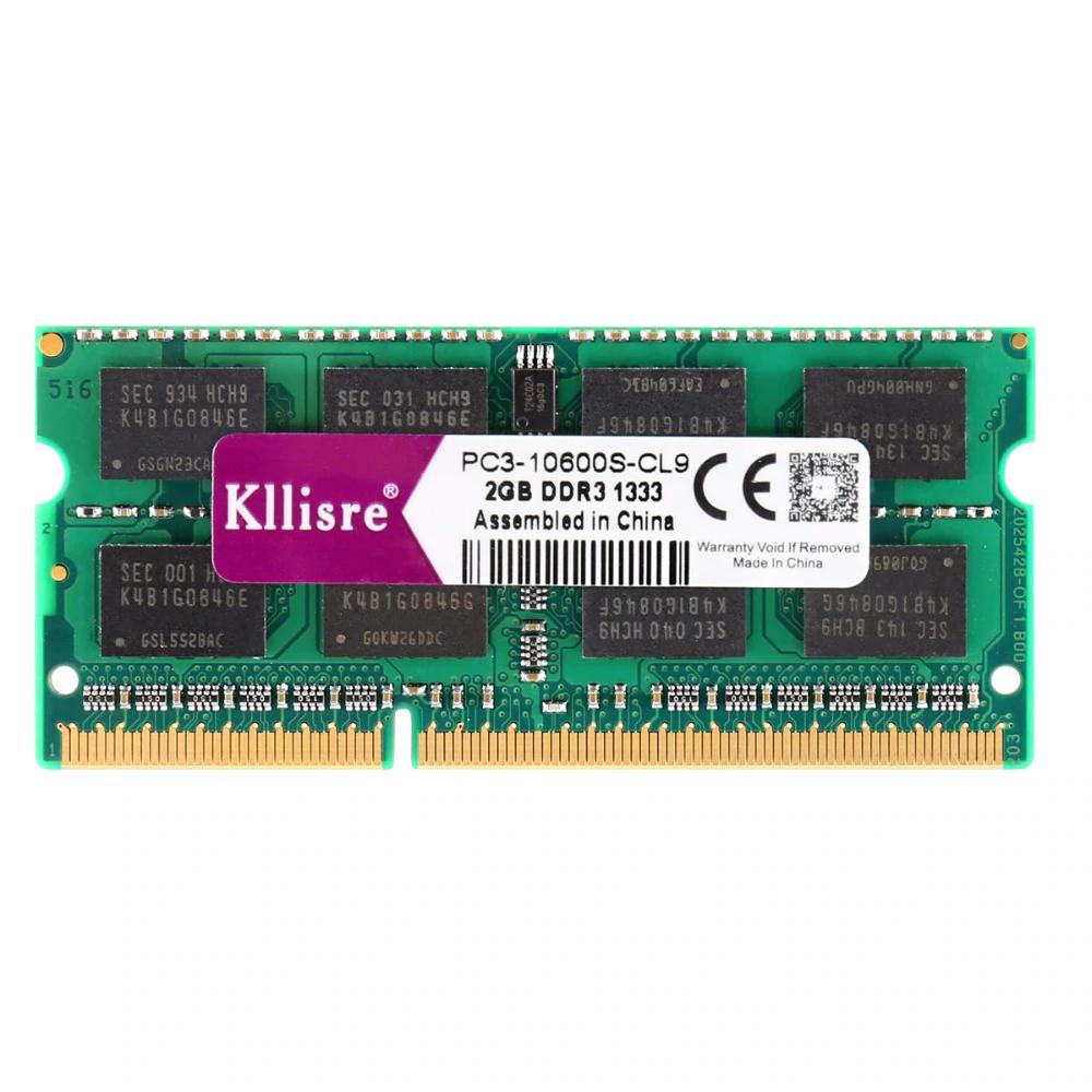 Ram Kllisre DDR3 SO-DIMM 4GB 1600MHz