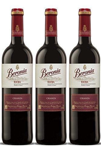 ¿3 botellas? Beronia Crianza Vino Tinto