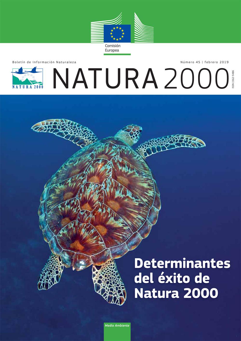 Revista Natura 2000 num 45, febrero 2019 formato papel inglés