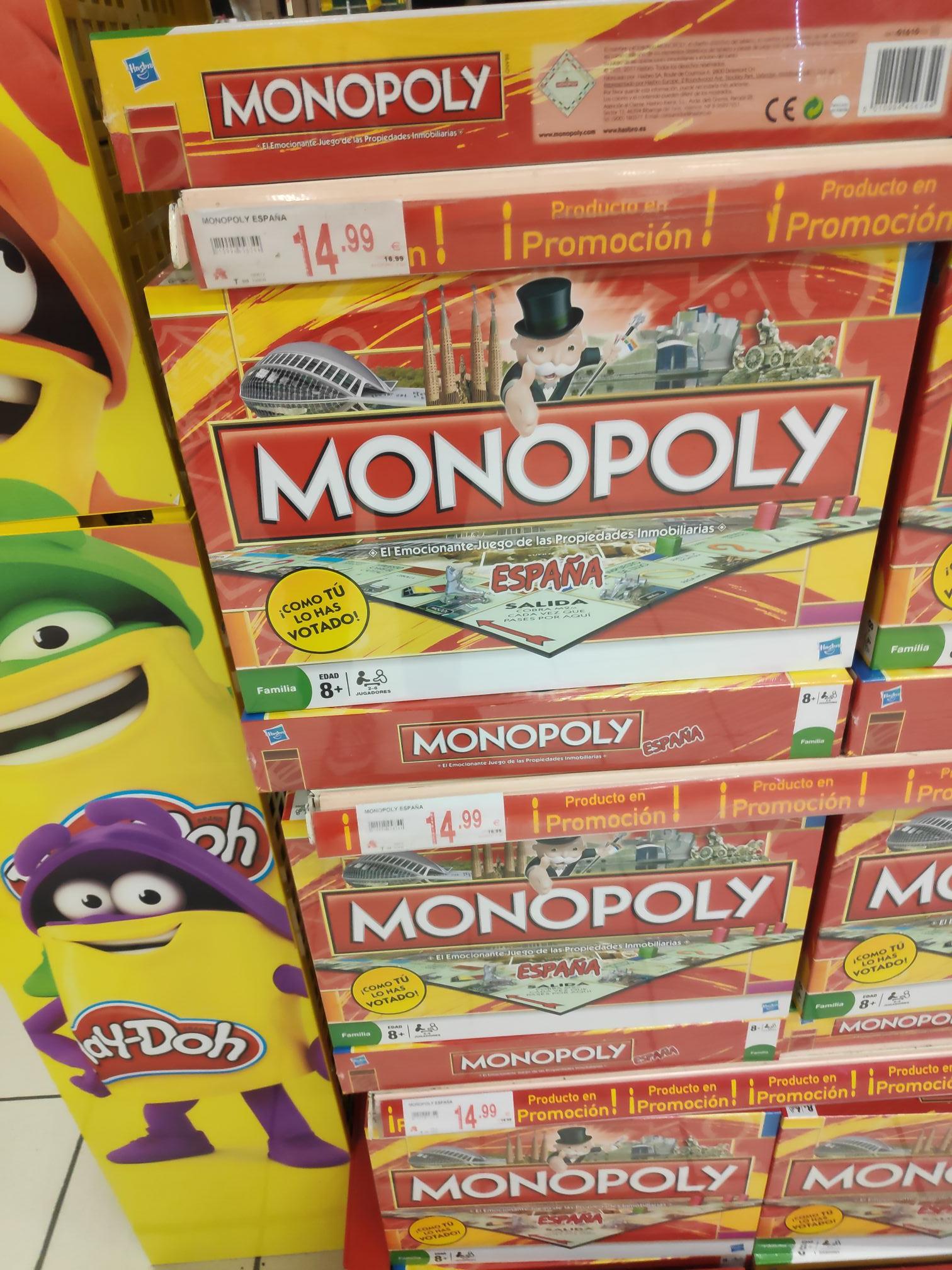 Monopoly edición España a muy buen precio (Alcampo Sevilla Este)