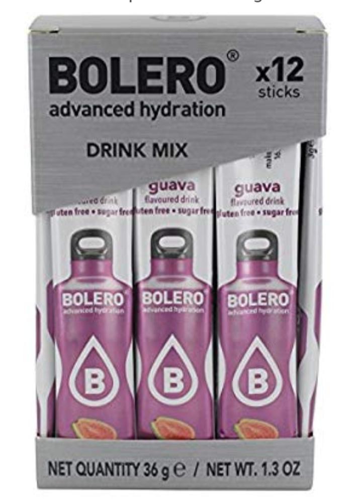 (Sin stock) Bolero Sticks Guava - Paquete de 12 x 3 gr - Total: 36 gr