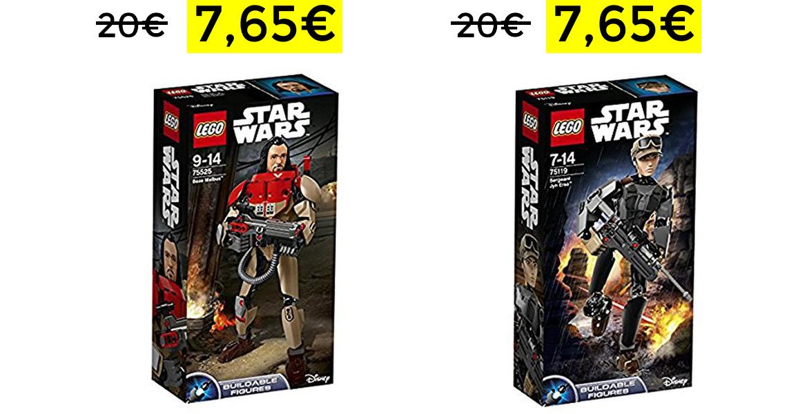 Star Wars Figuras Lego solo 7.65€