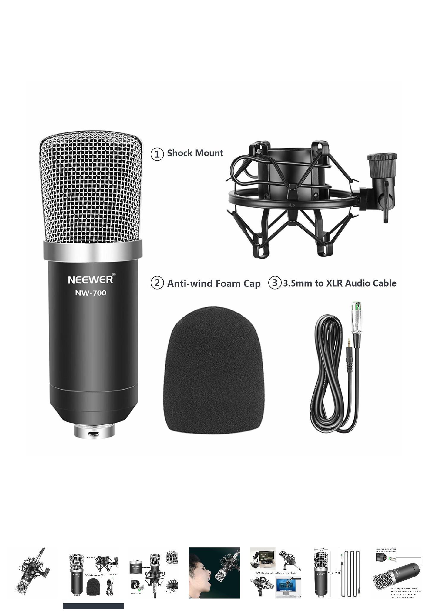 Microfono estudio Neweer NW-700