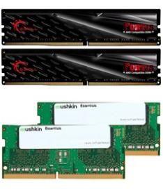 Mushkin 32Gb DDR4 2400Mhz / 2133Mhz // Memoria RAM DIMM y SoDIMM (2*16Gb)