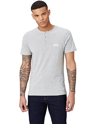 HIKARO Camiseta con Botones Hombre