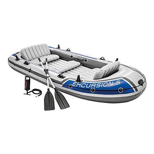 Barca hinchable para 5 personas