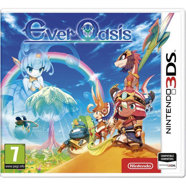 Ever Oasis para 3DS