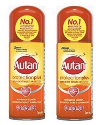 2 sprays Autan repelentes Mosquitos, Mosq. Tigre menos de mitad se precio en Pantry