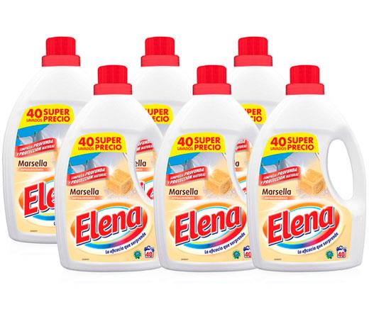 Pack de 6 Detergente líquido Marsella