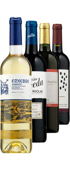 8 botellas de vino + sacacorchos profesional + envio gratis para cuentas nuevas