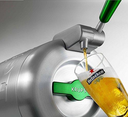 Tirador de cerveza 2 L Krups The Sub Heineken