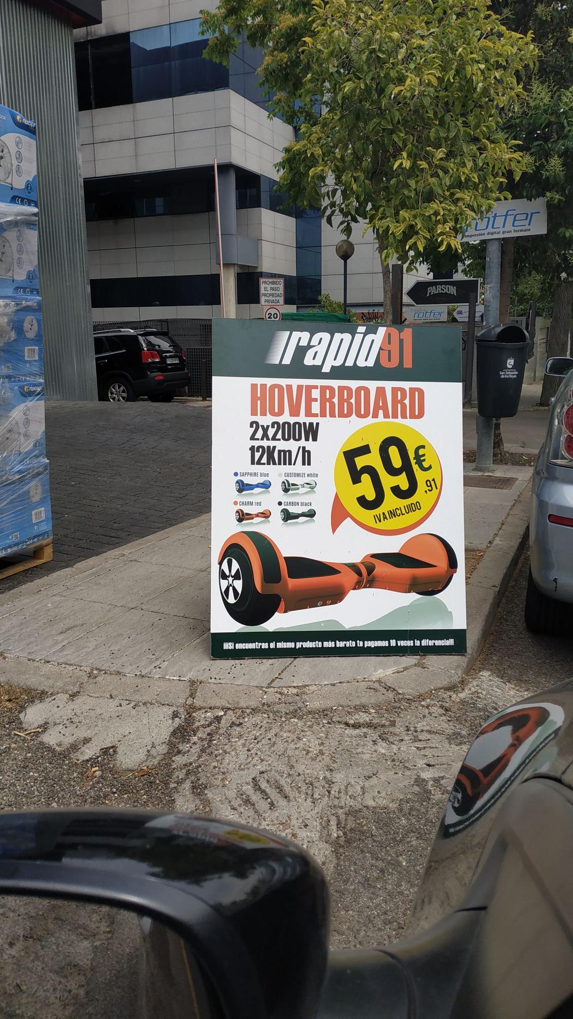OFERTON!! HOVERBOARD MENOS DE 60€