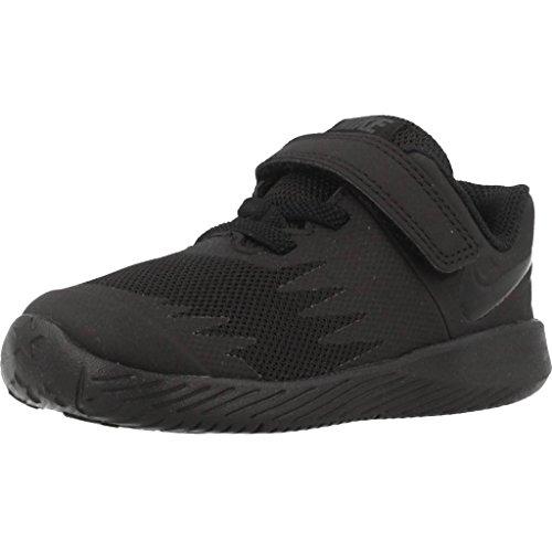 Nike Star Runner (TDV), Zapatillas de Estar por casa Bebé Unisex, Black/Volt 005
