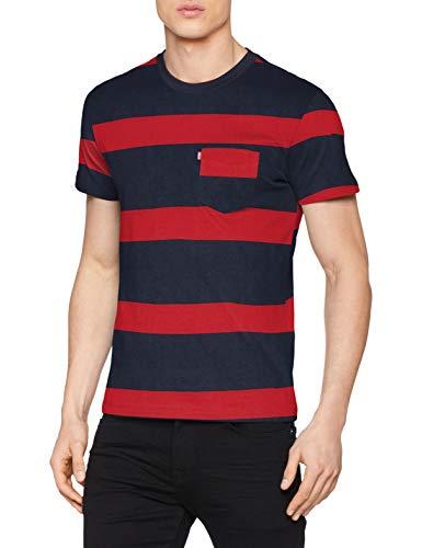 Levi's SS Set-in Sunset Pocket Camiseta para Hombre