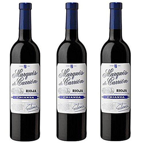 3 botellas Marqués de Carrión Crianza D.O Rioja