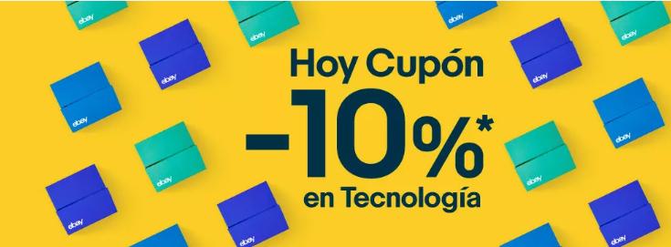 10% EXTRA en eBay sección tecnología