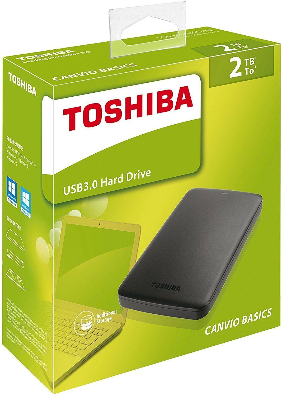 """Disco duro externo Toshiba 2TB 2.5"""" Ebay"""